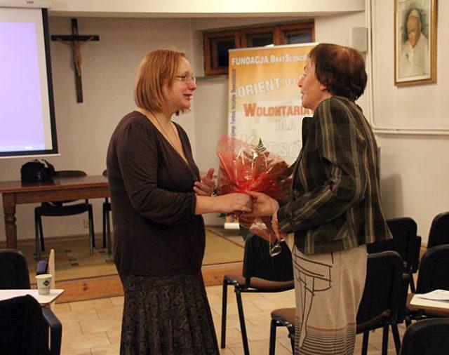 Spotkanie z Panią Janiną Dwernicką