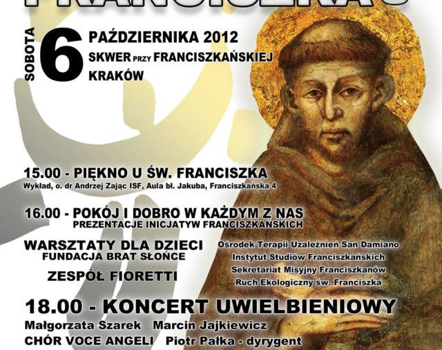 Zaproszenie - Dzień św. Franciszka