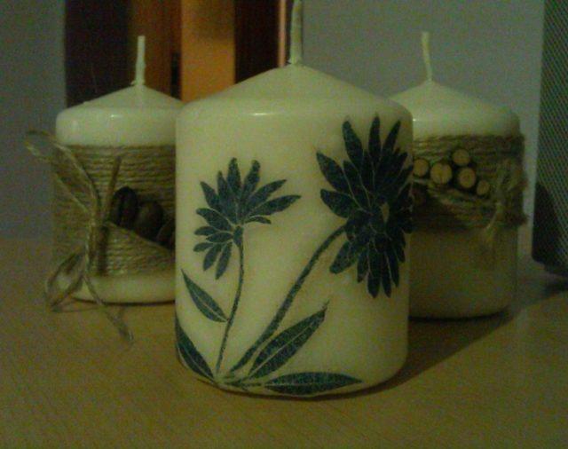 Warsztaty dekorowania świec