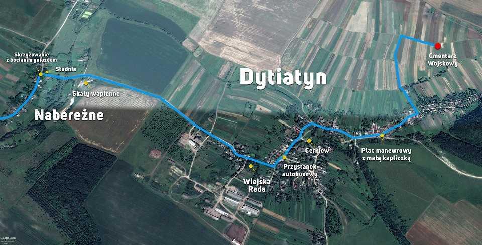 Droga do Dytiatyna