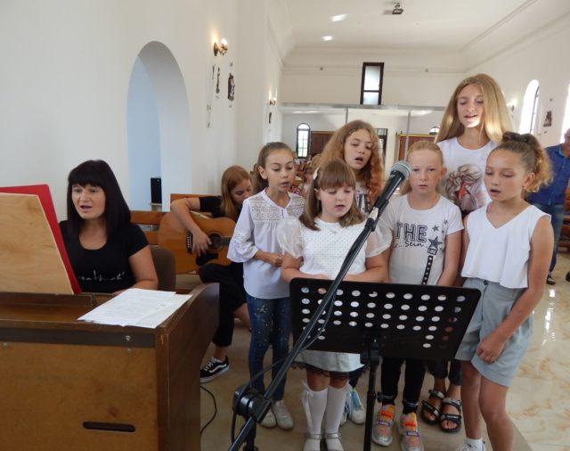Rozpoczęcie roku szkolnego w Szkółce Sobotnio-Niedzielnej w Maćkowcach